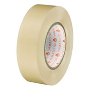 (業務用50セット) ヤマト ビニールテープ/粘着テープ 【19mm×10m/透明】 10巻入り NO200-19