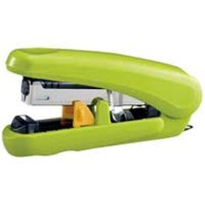 (業務用100セット) プラス フラットホッチキス ピタヒット ST-010X 緑