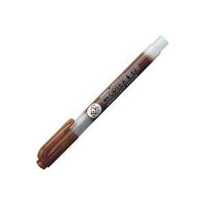 (業務用300セット) ZEBRA ゼブラ 蛍光ペン 蛍光オプテックス1 EZ 【茶】 つめ替え式 WKS11-E