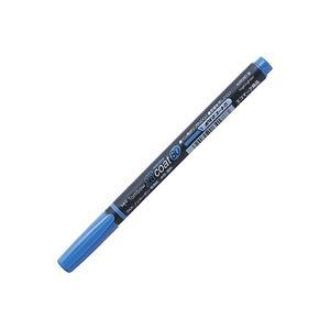 (業務用300セット) トンボ鉛筆 蛍光マーカー/蛍コート80 【青】 WA-SC89