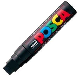 (業務用100セット) 三菱鉛筆 ポスカ/POP用マーカー 【極太/黒】 水性インク PC-17K.24