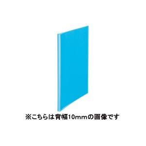 (業務用100セット) プラス シンプルクリアファイル 【A4】 40ポケット タテ入れ FC-240SC 青