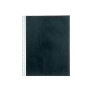 (業務用100セット) キングジム カラーベースポケット 103CP A4S 黒 1パック10枚