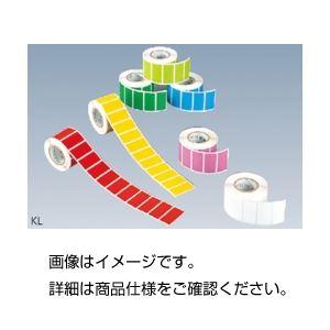 (まとめ)カラーラベル KL-BL青【×10セット】