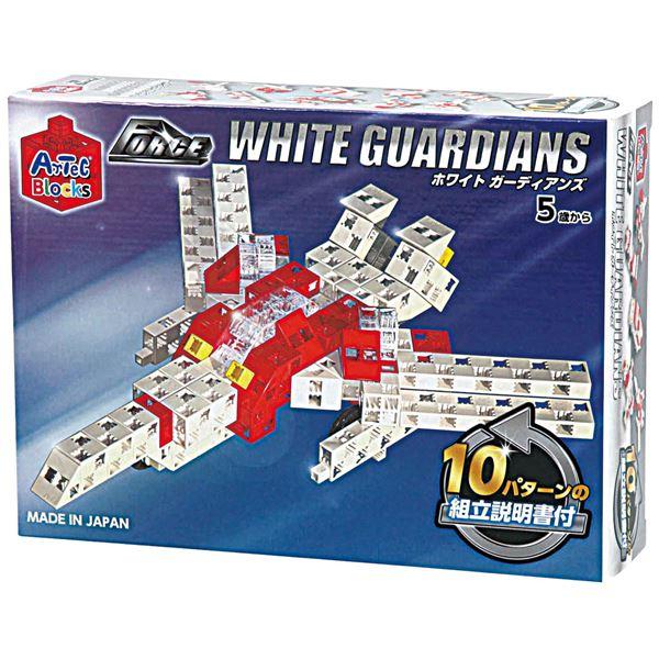 (まとめ)アーテック Artecブロック/カラーブロック 【WHITE GUARDIANS】 100pcs ABS製 【×5セット】