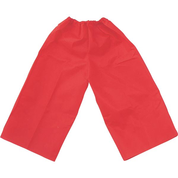 (まとめ)アーテック 衣装ベース 【J ズボン】 不織布 レッド(赤) 【×30セット】