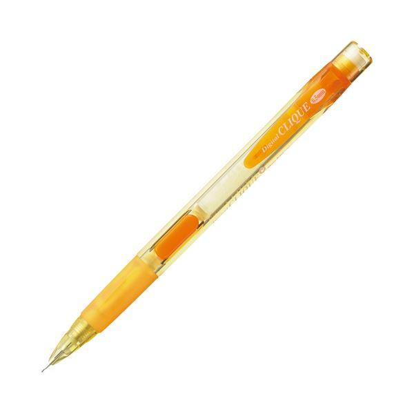 筆記具 シャープペンシル・替芯 シャープペンシル (まとめ) モナミ シャープ SHARPペンシル DIGITAL CLIQUE 0.5mm (軸色 オレンジ) 61701 1本 【×300セット】〔沖縄離島発送不可〕