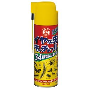 (まとめ) 大日本除蟲菊 イヤな虫キンチョール 450mL【×10セット】