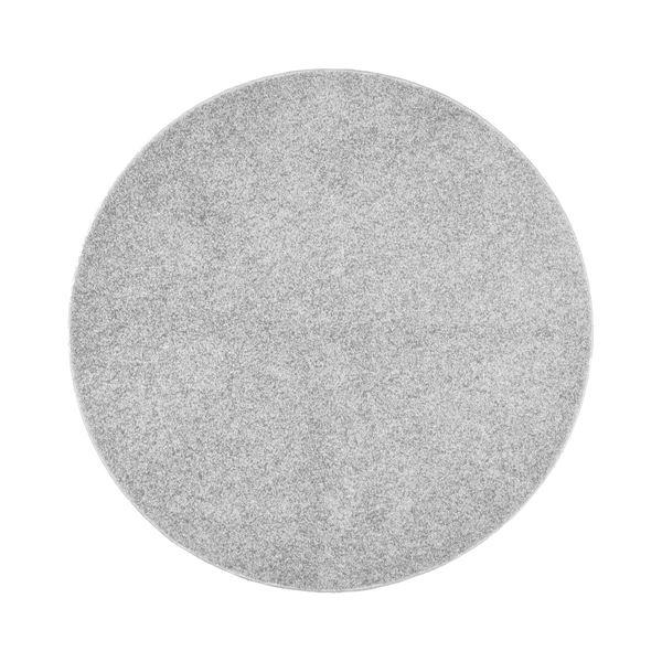 抗菌防臭 ラグマット/絨毯 【160R シルバー】 円形 日本製 折りたたみ 防ダニ ホットカーペット 通年可 『デタント』【代引不可】