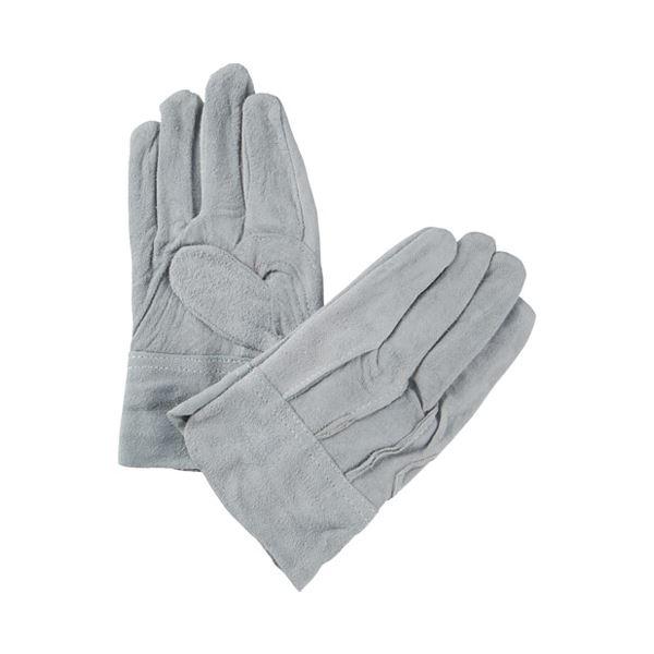 (まとめ)ミタニコーポレーション 牛床革手袋背縫い 1双【×50セット】