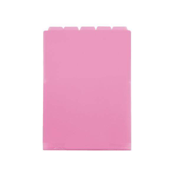 (まとめ)セキセイ 5インデックスF A4タテ ACT-915-21 ピンク【×50セット】