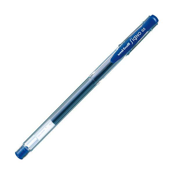 (まとめ) 三菱鉛筆 ゲルインクボールペン ユニボール シグノ エコライター 0.5mm 青 UM100EW.33 1本 【×100セット】
