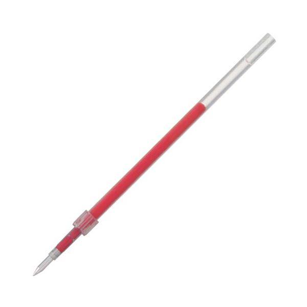 (まとめ) 三菱鉛筆 油性ボールペン替芯 0.5mm 赤 ジェットストリーム 150シリーズ用 SXR5.15 1セット(10本) 【×10セット】