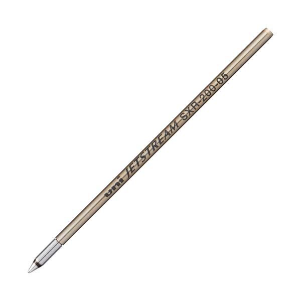 (まとめ) 三菱鉛筆 油性ボールペン替芯 0.5mm赤 ジェットストリーム プライム用 SXR20005.15 1本 【×50セット】