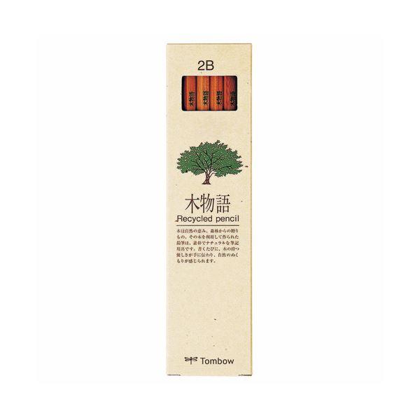 (まとめ) トンボ鉛筆 エコ鉛筆木物語 2BLA-KEA2B 1ダース(12本) 【×30セット】