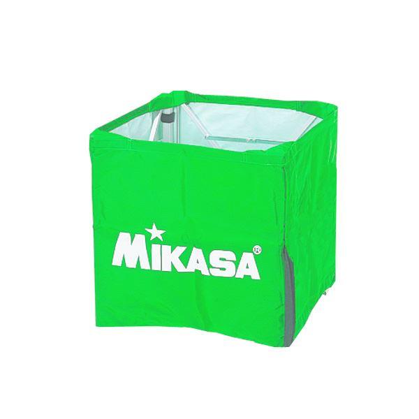 MIKASA(ミカサ)器具 ボールカゴ用(箱型・小) 幕体のみ ライトグリーン 【BCMSPSS】