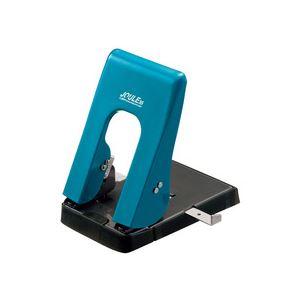 【×10セット】 省力パンチ ターコイズブルー 35枚穿孔 (まとめ) 1台 ライオン事務器 ジュール352穴式 EP-35TB