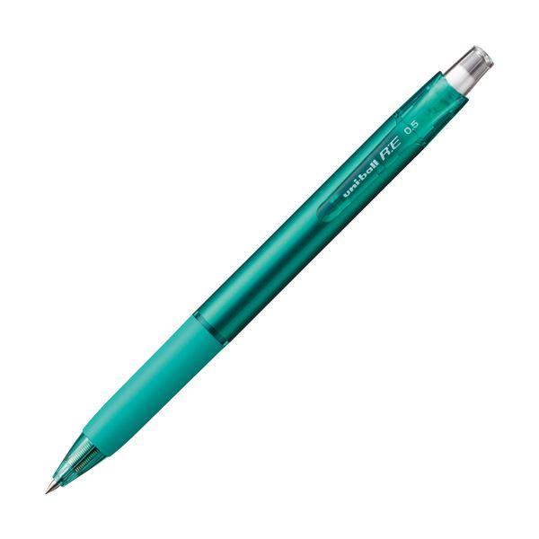 (まとめ) 三菱鉛筆 消せる ゲルインクボールペンユニボールR:E 0.5mm グリーン URN18005.6 1本 【×50セット】