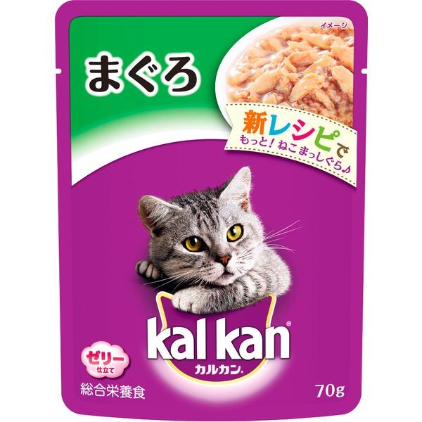 (まとめ)カルカン パウチ まぐろ 70g【×160セット】【ペット用品・猫用フード】