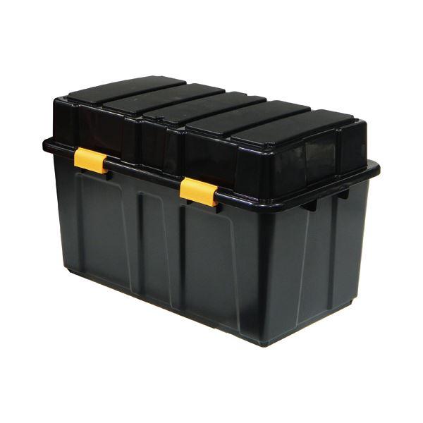(まとめ)サンカ 頑丈箱(工具箱) ブラック 45.5×49cm TKJ-114 1個【×3セット】