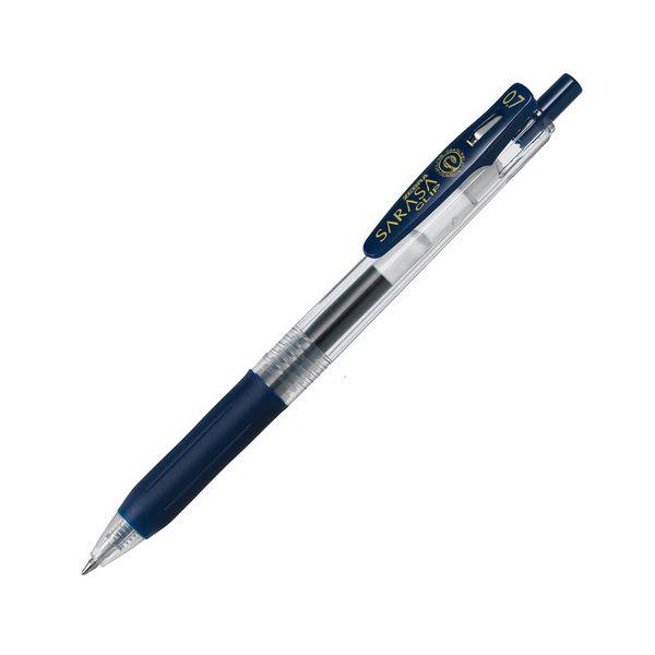 (まとめ) ゼブラ ゲルインクボールペン サラサクリップ 0.7mm ブルーブラック JJB15-FB 1本 【×100セット】