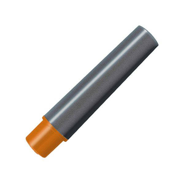 (まとめ) ゼブラ 水性マーカー紙用マッキー極細用インクカートリッジ オレンジ RWYTS5-OR 1パック(2本) 【×100セット】