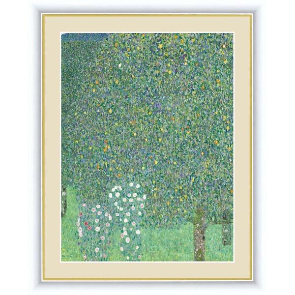 【グスタフ・クリムトの代表作】クリムト展 ウィーンと日本 ■GUSTAV KLIMT(グスタフ クリムト)F4号 木々の下の薔薇