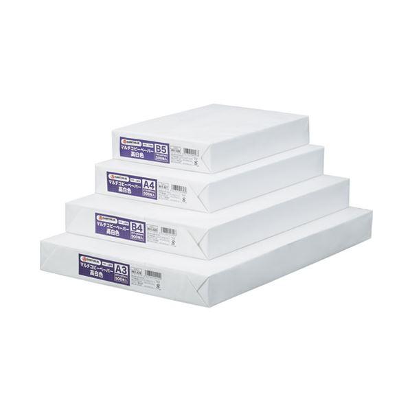 (まとめ) スマートバリュー コピーペーパー高白色 B4 1箱 5冊 A272J【×3セット】