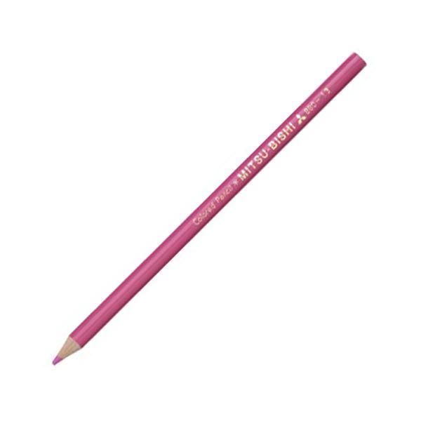 (まとめ) 三菱鉛筆 色鉛筆880級 ももいろK880.13 1ダース 【×30セット】