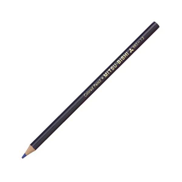 (まとめ) 三菱鉛筆 色鉛筆880級 むらさきK880.12 1ダース 【×30セット】