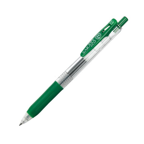 (まとめ) ゼブラ ゲルインクボールペン サラサクリップ 0.5mm ビリジアン JJ15-VIR 1本 【×100セット】