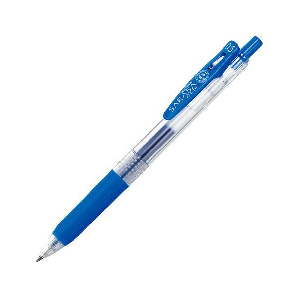 (まとめ) ゼブラ ゲルインクボールペン サラサクリップ 0.5mm コバルトブルー JJ15-COBL 1本 【×100セット】