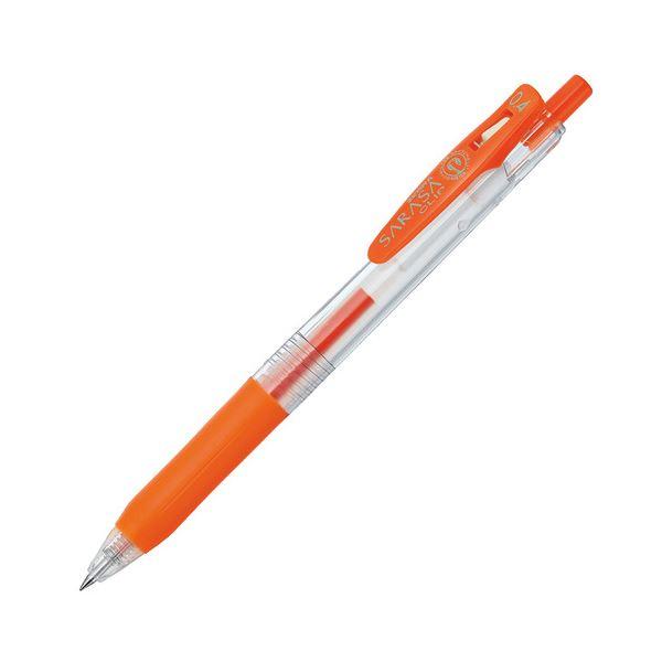 (まとめ) ゼブラ ゲルインクボールペン サラサクリップ 0.4mm レッドオレンジ JJS15-ROR 1本 【×100セット】