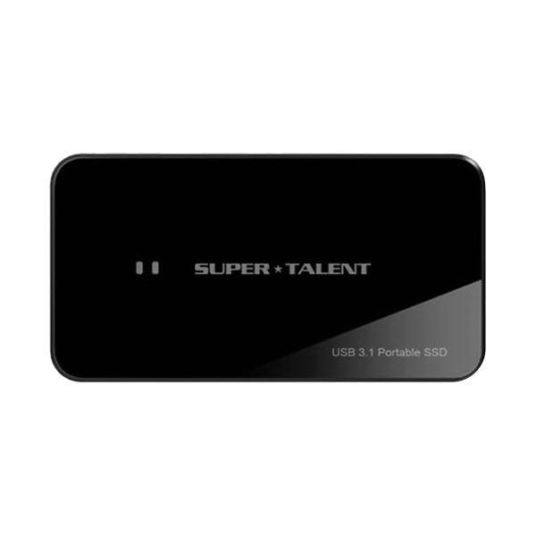スーパータレント USB3.1ポータブルSSD RAID Drive 480GB FUW480UCU0 1台