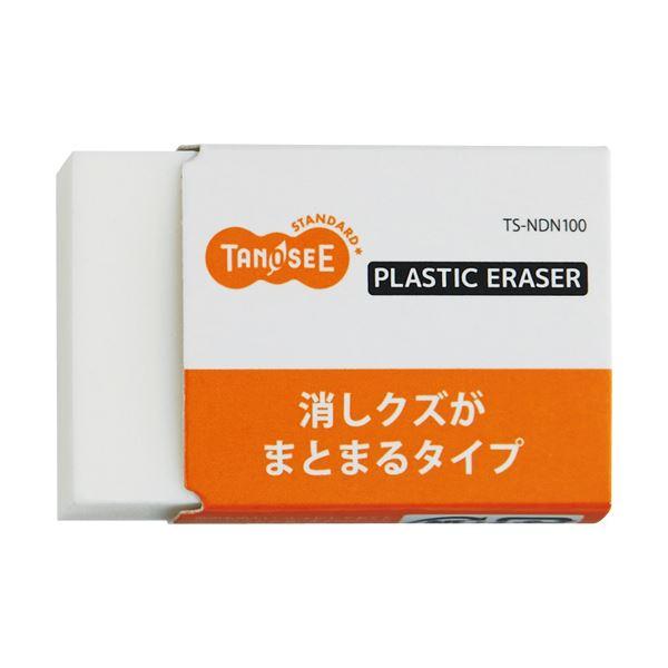 (まとめ) TANOSEE 消しゴム(まとまるタイプ) 中 1個 【×300セット】