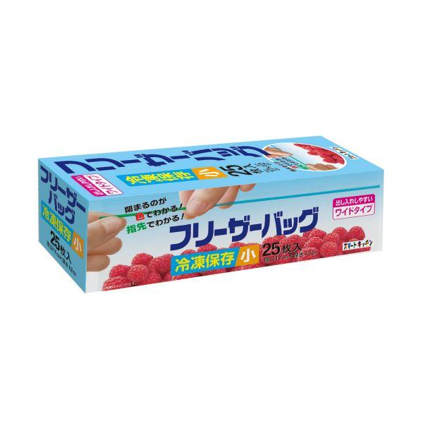 (まとめ)日本サニパック スマートキッチンフリーザーバッグ 小 透明 KS36 1パック(25枚)【×20セット】:ユニクラス オンラインショップ
