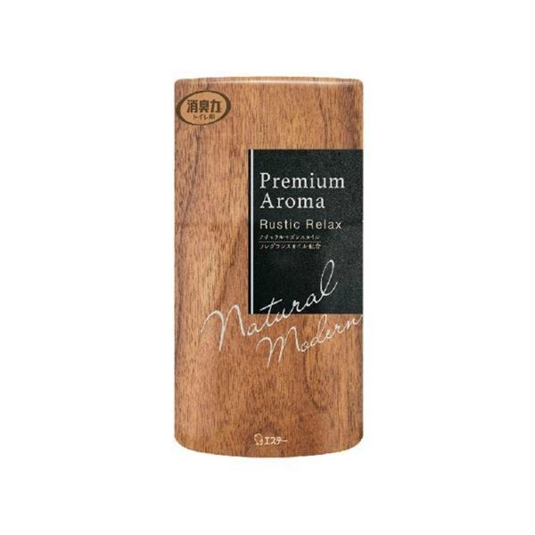 香り立つ ぜいたくフレグランス 信頼 エステー トイレの消臭力 プレミアムアロマ Premium Aroma 400mL トイレ ラスティックリラックス 限定価格セール 消臭芳香剤 〔沖縄離島発送不可〕 消臭剤 ×18セット