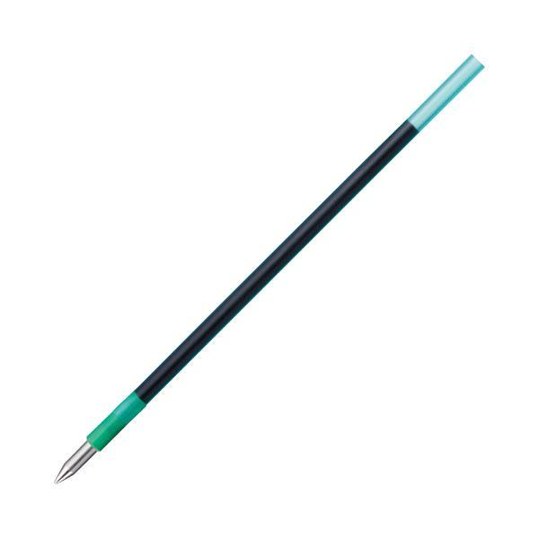 (まとめ) トンボ鉛筆 油性ボールペン替芯 CLE 0.5mm 緑 BR-CLE07 1セット(5本) 【×30セット】