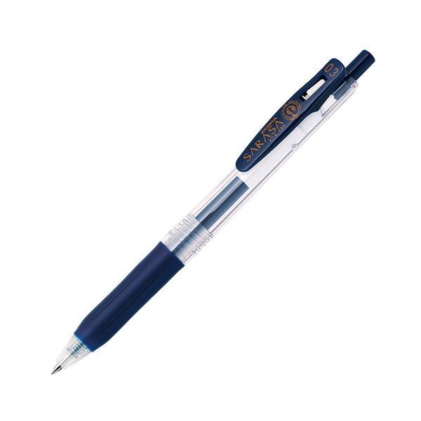 (まとめ) ゼブラ ゲルインクボールペン サラサクリップ 0.3mm ブルーブラック JJH15-FB 1本 【×100セット】