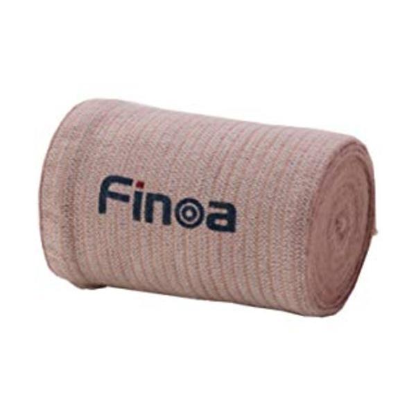 Finoaエラスチックバンデージ 1箱 100mm(長さ4.5m)×12個入り
