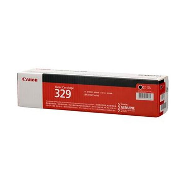 (まとめ)キヤノン トナーカートリッジ 329CRG-329BLK ブラック 4370B003 1個【×3セット】