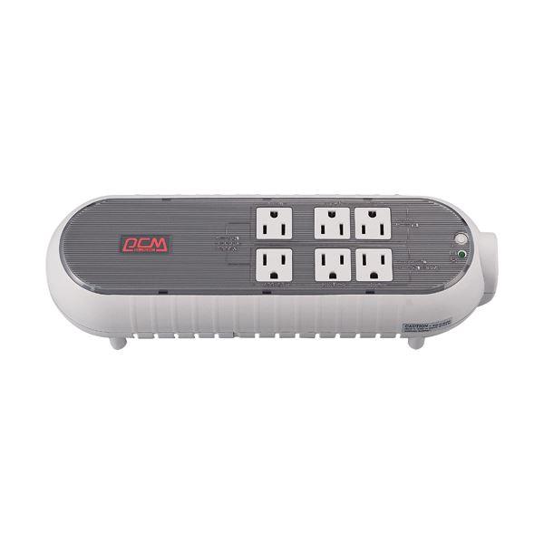パワーコム UPS 無停電電源装置テーブルタップタイプ 300VA/165W WOW-300U-R 1台