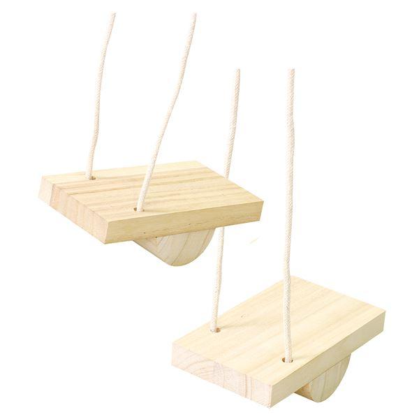 (まとめ)木製バランスパカポコ 【×10個セット】