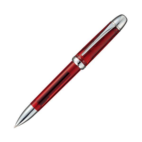 複合筆記具 ダブルR3アクション サラボ(化粧箱入り) ブルゴーニュ 【×10セット】
