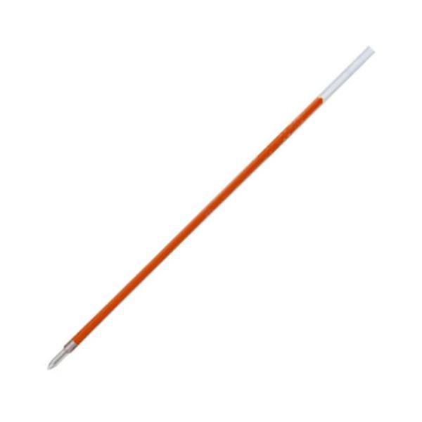 (まとめ) 三菱鉛筆 油性ボールペン替芯 0.7mm 赤 VERY楽ボ細字用 SA7N.15 1セット(10本) 【×30セット】