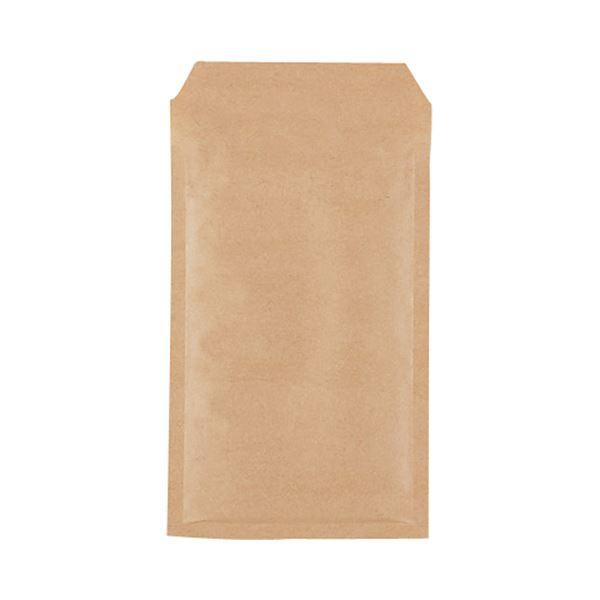 (まとめ)TANOSEE クッション封筒エコノミー FD・MO用 内寸130×215mm 茶 1パック(200枚)【×3セット】