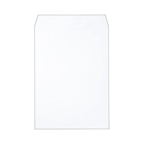 (まとめ)ピース R40再生ケント封筒 角2100g/m2 〒枠なし ホワイト 業務用パック 720-80 1箱(500枚)【×3セット】