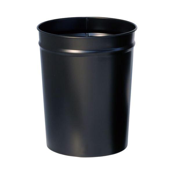 (まとめ) ぶんぶく テーパーバケット小 ブラック OTS-4 7.3L【×10セット】