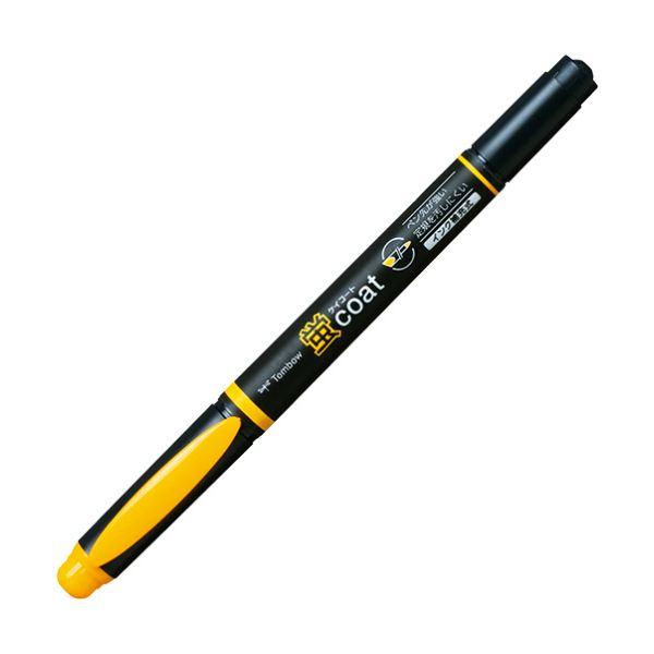 (まとめ) トンボ鉛筆 蛍コート ツインタイプやまぶきいろ WA-TC99 1本 【×100セット】