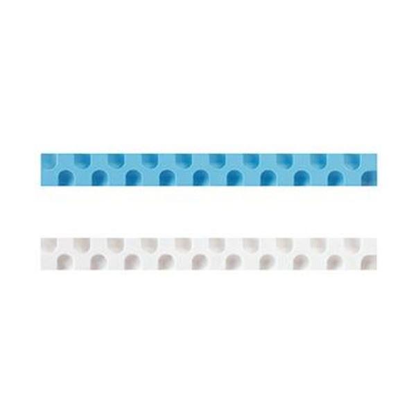 1セット(20本:2本×10パック)【×10セット】 消しゴム カドケシスティックつめ替え用消しゴム(ブルー・ホワイト)ケシ-U600-2 (まとめ)コクヨ
